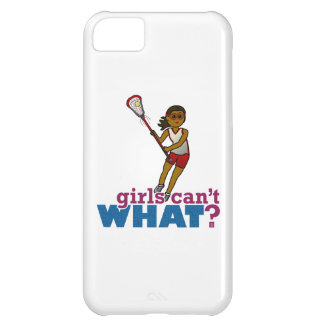 Lacrosse Player Red Uniform Case For iPhone 5C