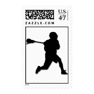 Lacrosse Player Stamps