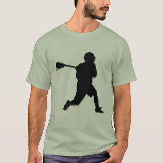 Lacrosse Player T-Shirt