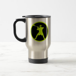 Lacrosse Player Travel Mug