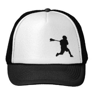 Lacrosse Player Trucker Hat