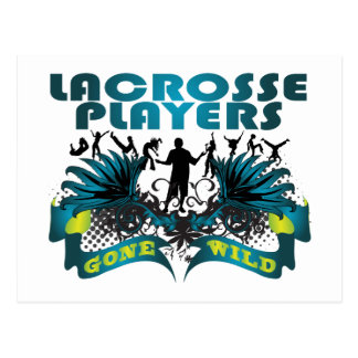 Lacrosse Players Gone Wild Post Card
