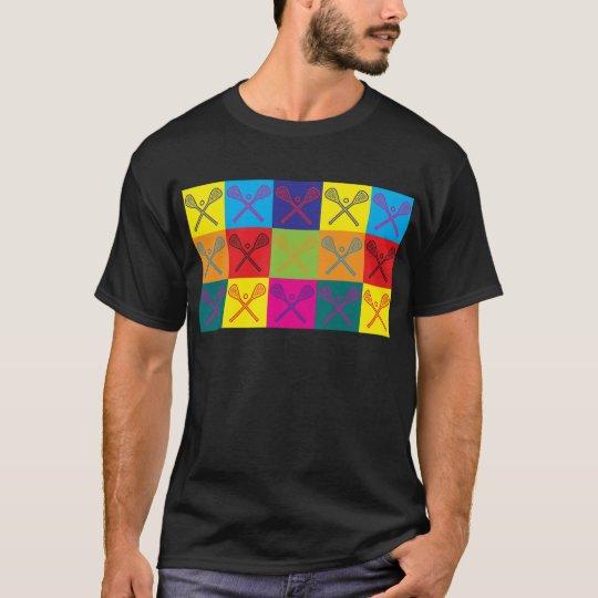 Lacrosse Pop Art T-Shirt
