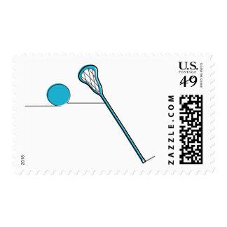 Lacrosse postage stamp