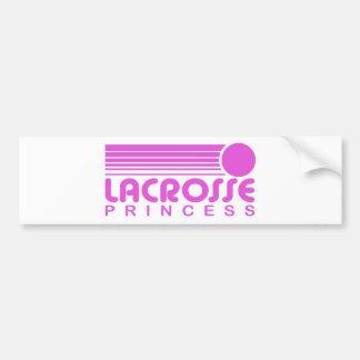 Lacrosse Princess Bumper Sticker
