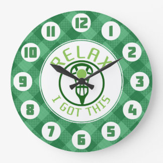 Lacrosse ReLAX I Got This Round Clock