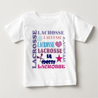 Lacrosse Repeating Baby T-Shirt