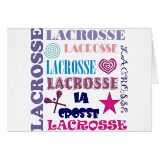Lacrosse Repeating Card