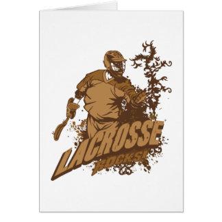 Lacrosse Rocks Card
