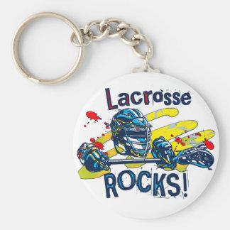 Lacrosse Rocks  LaX Gear Keychain