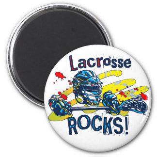 Lacrosse Rocks  LaX Gear Magnet