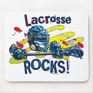 Lacrosse Rocks  LaX Gear Mouse Pad