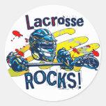 Lacrosse Rocks  LaX Gear Stickers
