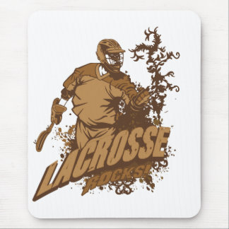 Lacrosse Rocks! Mouse Pad