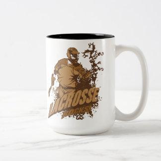 Lacrosse Rocks! Two-Tone Coffee Mug