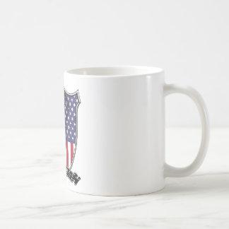 Lacrosse Scroll US Coffee Mug