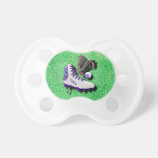 Lacrosse Shoe Stick Eye Mask Ball With Your Name Pacifier