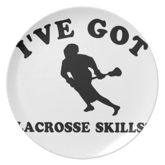 lacrosse skill gift items plate