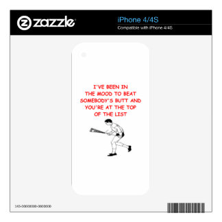 lacrosse decals for iPhone 4