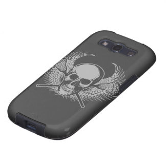 Lacrosse Skull and Sticks Samsung Galaxy S3 Cover
