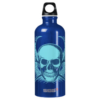 Lacrosse Skull Beverage bottle SIGG Traveler 0.6L Water Bottle