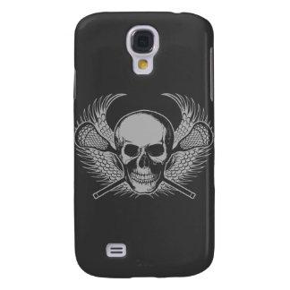 Lacrosse Skull - Gray Samsung S4 Case