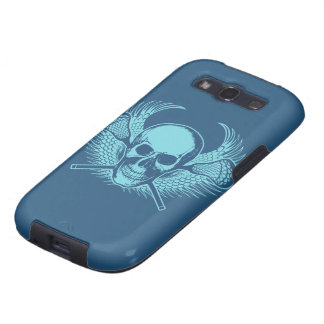 Lacrosse Skull phone cover Samsung Galaxy S3 Cases