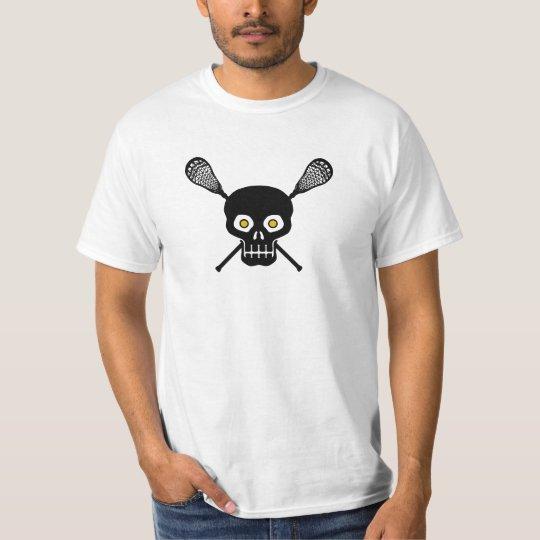 Lacrosse Skull T-Shirt
