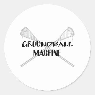 Lacrosse Smack LAX Groundball Sticker