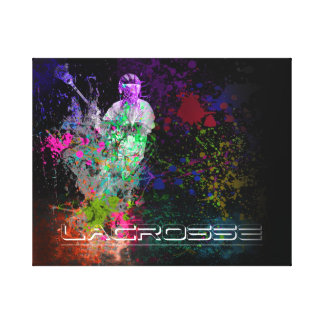Lacrosse Splatter spread Canvas