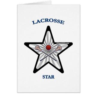 Lacrosse Star Card