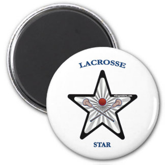 Lacrosse Star Fridge Magnets