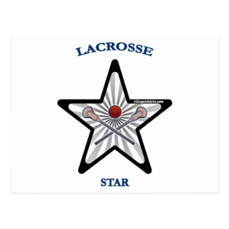 Lacrosse Star Post Cards