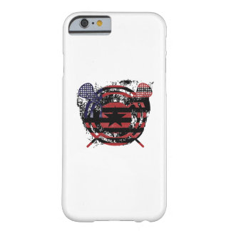 Lacrosse Stick American Flag Gifts Barely There iPhone 6 Case