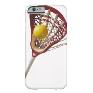 Lacrosse stick and ball barely there iPhone 6 case