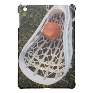 Lacrosse Stick and Ball iPad Mini Case