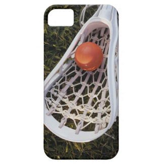Lacrosse Stick and Ball iPhone SE/5/5s Case