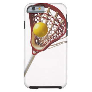 Lacrosse stick and ball tough iPhone 6 case