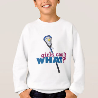 Lacrosse Stick Blue Sweatshirt