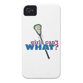 Lacrosse Stick Green iPhone 4 Cover