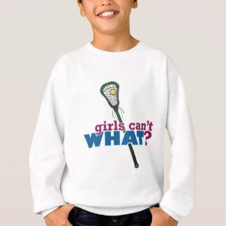 Lacrosse Stick Green Sweatshirt