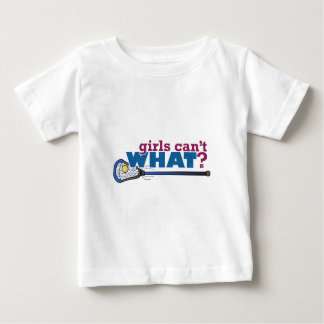 Lacrosse Stick in Blue Baby T-Shirt
