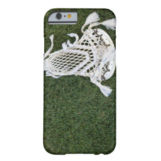 Lacrosse stick on grass barely there iPhone 6 case