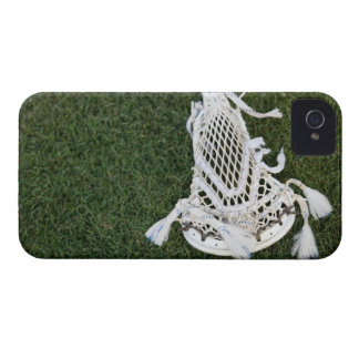 Lacrosse stick on grass Case-Mate iPhone 4 case