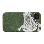 Lacrosse stick on grass Case-Mate iPhone 4 cases