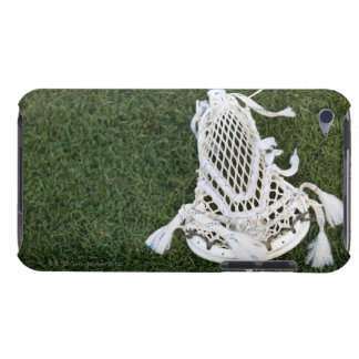 Lacrosse stick on grass iPod Case-Mate cases