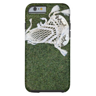 Lacrosse stick on grass tough iPhone 6 case