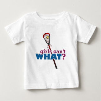 Lacrosse Stick Red Baby T-Shirt