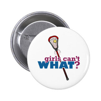Lacrosse Stick Red Buttons