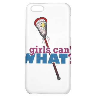 Lacrosse Stick Red Case For iPhone 5C